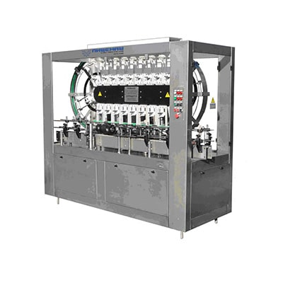 The machine for visual inspection of bottles of VK-6 (linear type)